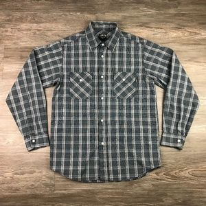 Vintage Stussy button up long sleeve shirt